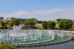 Het Park van Tsaritsino in Moskou Stock Foto