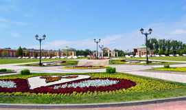 Het Park van Tsaritsino in Moskou Stock Fotografie