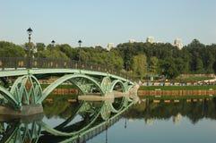 Het park van Tsaritsyno Stock Afbeeldingen