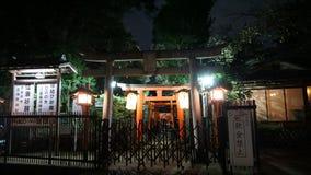 Het Park van Ueno De Poort van Torii Verscheidene poorten vormen de Weg stock foto's