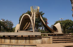 Het park van Uhuru in Nairobi stock afbeeldingen