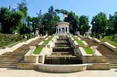 Het park van Valeamorilor stock afbeelding