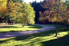 Het Park van Victoria Royalty-vrije Stock Afbeeldingen
