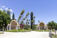 Het park van villagiulia Stock Afbeelding