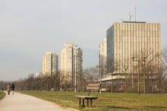 Het park van Zagreb stock afbeeldingen