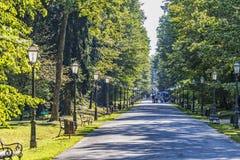 Het park van Zagreb Maksimir royalty-vrije stock fotografie