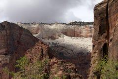 Het Park Zion van rotsen Royalty-vrije Stock Fotografie
