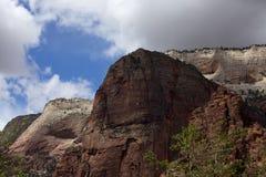 Het Park Zion van rotsen Stock Fotografie