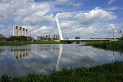 Het parkbrug van de vrede Stock Fotografie