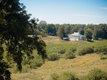 Het Parkbureau van de Vicksburg Nationaal Militair Burgeroorlog Stock Afbeelding