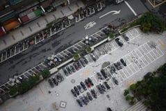 Het Parkeerterrein van Taipeh Stock Foto