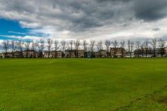 Het Parker` s stuk is groot park in Cambridge, Cambridgeshire, Engeland, het Verenigd Koninkrijk royalty-vrije stock afbeeldingen