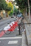 Het parkeren bicyc Royalty-vrije Stock Afbeelding