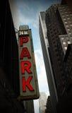 Het parkeren teken Stock Afbeelding