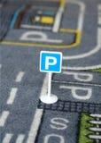 Het parkeren teken Royalty-vrije Stock Fotografie
