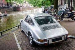 Het Parkeren van Amsterdam Stock Afbeeldingen