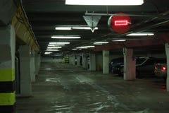 Het parkeren van de auto royalty-vrije stock afbeeldingen