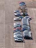 Het parkeren van de auto Stock Foto's