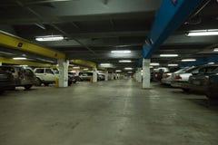 Het parkeren van de auto Stock Fotografie