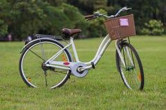 Het parkeren van de fiets Royalty-vrije Stock Afbeeldingen