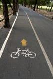 Het parkerenteken van de fiets Royalty-vrije Stock Afbeelding