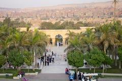 Het parkingang van AlAzhar Royalty-vrije Stock Foto's