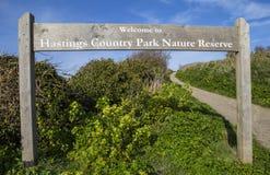Het Parknatuurreservaat van het Hastingsland Stock Foto