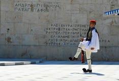 Het Parlement in Athene, Griekenland op 23 Juni, 2017 Royalty-vrije Stock Foto