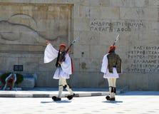Het Parlement in Athene, Griekenland op 23 Juni, 2017 Stock Afbeelding