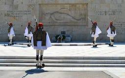 Het Parlement in Athene, Griekenland op 23 Juni, 2017 Royalty-vrije Stock Fotografie