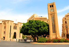Het Parlement in Beiroet Royalty-vrije Stock Foto's