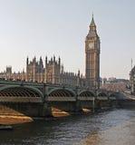 Het Parlement bij middag stock fotografie