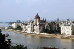 Het Parlement Boedapest Royalty-vrije Stock Fotografie