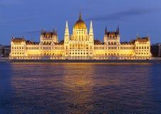 Het Parlement in Boedapest Royalty-vrije Stock Fotografie