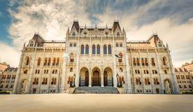 Het Parlement, Boedapest Stock Afbeeldingen