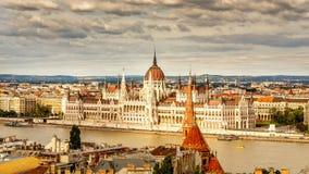 Het Parlement, Boedapest Royalty-vrije Stock Afbeeldingen