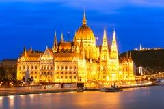 Het Parlement, Boedapest Royalty-vrije Stock Afbeelding