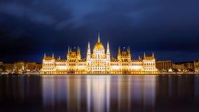 Het Parlement, Boedapest Royalty-vrije Stock Foto