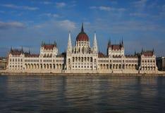 Het Parlement in Boedapest, Hongarije stock afbeeldingen