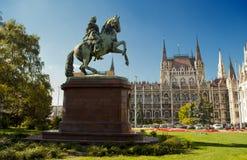 Het Parlement in Boedapest (Hongarije) Royalty-vrije Stock Foto's