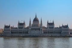 Het Parlement in Boedapest in Hongarije royalty-vrije stock afbeelding