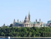 Het Parlement Canada Royalty-vrije Stock Fotografie