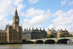 Het Parlement en de Big Ben van Londen royalty-vrije stock afbeelding