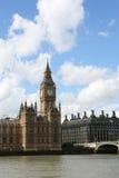 Het Parlement en de Big Ben van Londen Royalty-vrije Stock Afbeeldingen