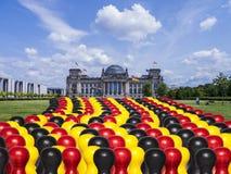 Het parlement en de cijfers van Duitsland Royalty-vrije Stock Afbeeldingen