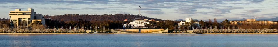 Het Parlement huis Australië stock foto's