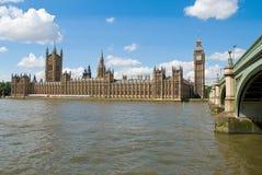 Het Parlement in Londen Stock Foto