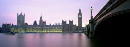 Het Parlement Londen Engeland Groot-Brittannië het UK Stock Foto