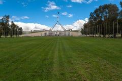 Het Parlement van Australië Canberra Captital Royalty-vrije Stock Afbeelding
