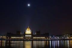 Het parlement van Boedapest Royalty-vrije Stock Fotografie